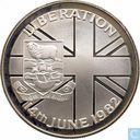"Falkland Islands 50 pence 1982 ""Falkland's Liberation from Argentine Forces"""