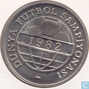 "Turkey 100 lira 1982 ""World Championship Soccer Madrid"""