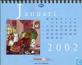 Comic Books - Bumble and Tom Puss - Kalender 2002