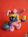 Smurfette as Easter Bunny
