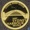 "Australien 5 Dollar 2007 ""Sydney Harbour Bridge"""