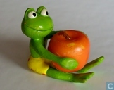 Frog with Apple