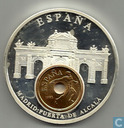 "Spanje 25 pesetas 1991 ""European Currencies"""