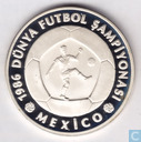 "Turkey 10.000 lira 1986 (PROOF) ""1986 FIFA World Cup - Mexico"""