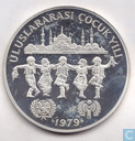 "Turkije 500 lira 1979 (PROOF) ""UNICEF and I.Y.C."""