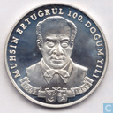 "Turkije 50.000 lira 1992 (PROOF) ""100th Anniversary Birth of Muhsin Ertugrul"""