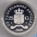 Netherlands Antilles 25 gulden 2000