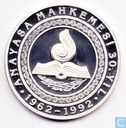 "Turkije 50.000 lira 1992 (PROOF) ""30th Anniversary - Constitution"""