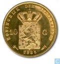 Netherlands 10 gulden 1885