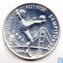 "Turkey 50.000 lira 1994 (PROOF - without white) ""1994 FIFA player"""