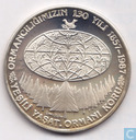 "Turkey 10.000 lira 1987 (PROOF) ""130 Years of Turkish Forestry"""