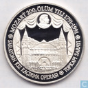 "Turkey 50.000 lira 1991 (PROOF) ""200th Anniversary Mozart"""