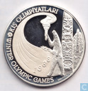 "Turkey 10.000 lira 1988 (PROOF) ""1988 Winter Olympics"""