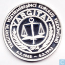 "Turkije 50.000 lira 1993 (PROOF) ""125 Years - Turkish Supreme Court"""