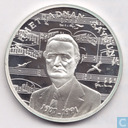 "Turkey 50.000 lira 1991 (PROOF) ""Ahmed Adnan Saygun - Musician"""