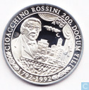 "Turkey 50.000 lira 1992 (PROOF) ""200th Birthday of Rossini"""