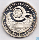 "Turkije 50.000 lira 1993 (PROOF) ""25th Anniversary of Turkish Red Half Moon"""