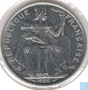 New Caledonia 5 francs 1986