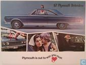 1967 Plymouth Belvedere brochure
