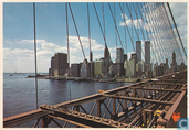 Lower Manhattan, seen from the Brooklyn Bridge