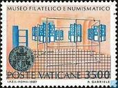 Postage Stamps - Vatican City - Souvenir philatelic and numismatic museum