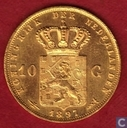 Netherlands 10 gulden 1897