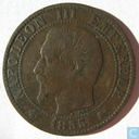 France 5 centimes 1855 (D grand - ancre)