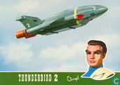 Postcards - Vita Nova - 07 - Thunderbird 2 met piloot Virgil Tracy.