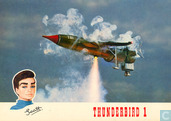 Postcards - Vita Nova - 09 - Thunderbird 1 met piloot Scott Tracy