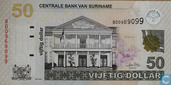 Suriname 50 Dollar 2009