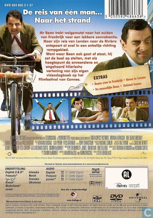mr beans holiday dvd catawiki