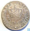 Denmark 1 kroon 1731 (small crown)