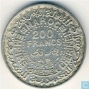 Morocco 200 francs 1953 (year 1372)