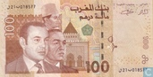 Banknotes - Morocco - 2002-2005 Issue - Morocco 100 Dirhams 2002