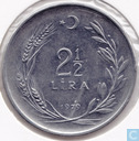 Turkey 2½ lira 1979