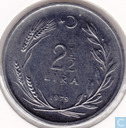 "Turkey 2½ lira 1979 ""F.A.O."""
