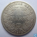 German Empire 1 mark 1873 (D)
