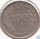 Turkey 100 lira 1985