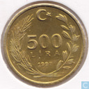 Turkey 500 lira 1997