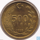 Turkey 500 lira 1998