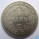 Empire allemand 1 mark 1878 (J)
