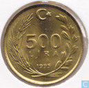 Turkey 500 lira 1995