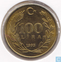 Turkey 100 lira 1993