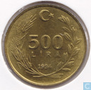 Turkey 500 lira 1994