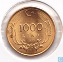 Turkey 1000 lira 1995