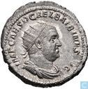 Antoninianus Roman Empire in 238 AD Emperor Balbinus. 2nd emission