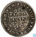 Danemark 1 mark 1606