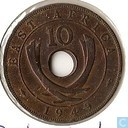 East Africa 10 cents 1949