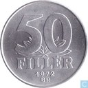 Hungary 50 fillér 1972