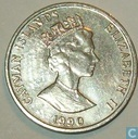 Kaimaninseln 5 Cent 1990